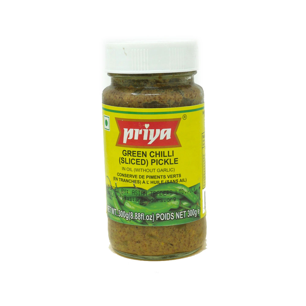 Priya Green Chilli Pickle 300g - £1.49