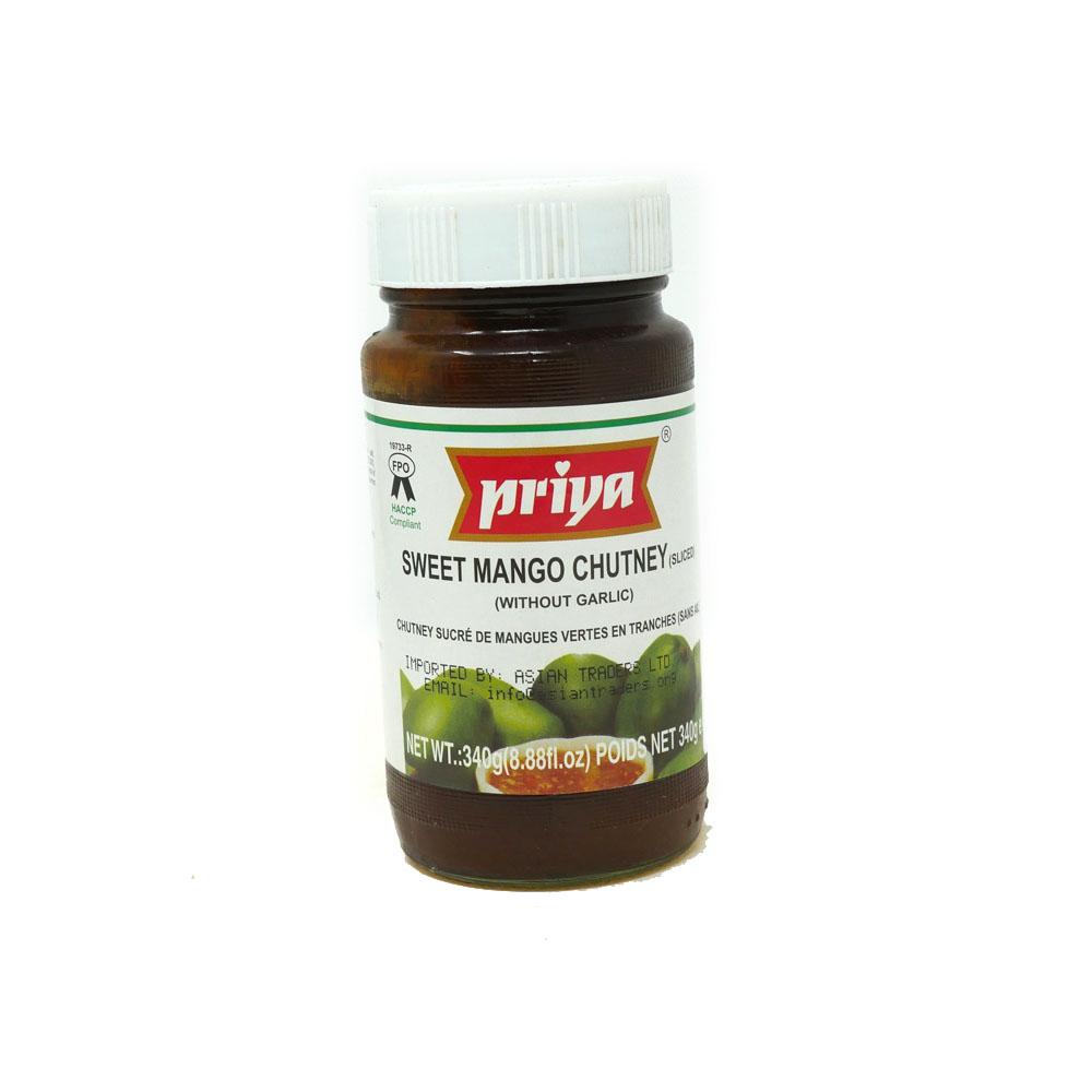 Priya Sweet Mango Chutney 340g - £1.49