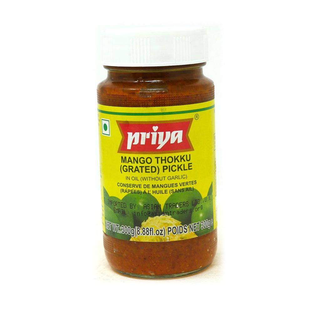 Priya Mango Thokku Pickle 300g - £1.49