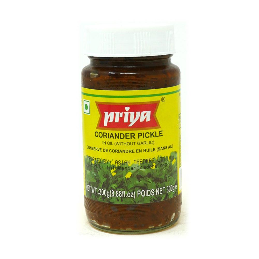 Priya Coriander Pickle 300g - £1.49