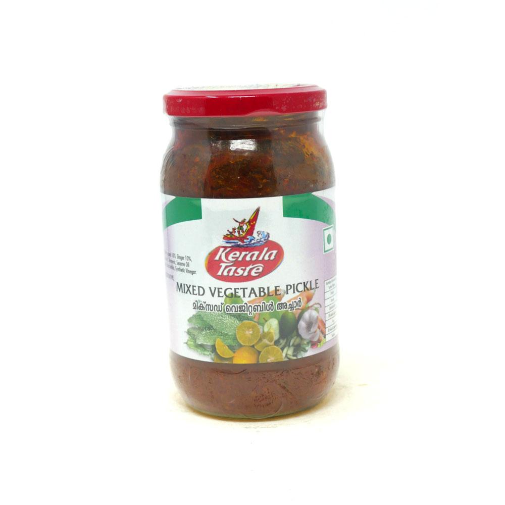 Kerala Taste Mixed Vegetable Pickle 400g - £1.79