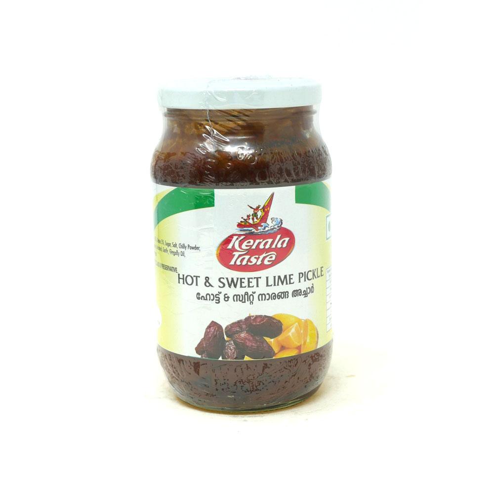 Kerala Taste Hot & Sweet Lime Pickle