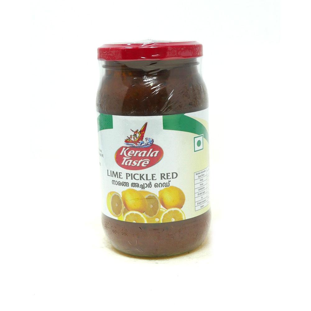 Kerala Taste Lime Pickle 400g - £1.49