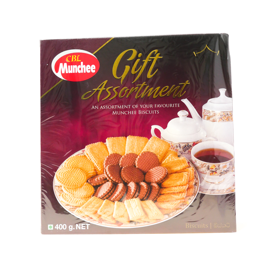 Munchee Gift Assortment 400g - £2.49