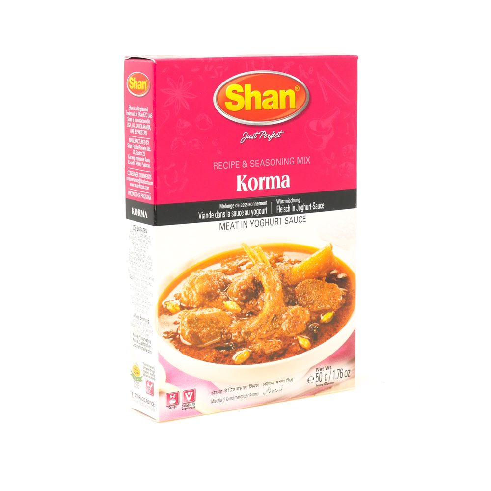 Shan Korma Curry 175g - £0.79