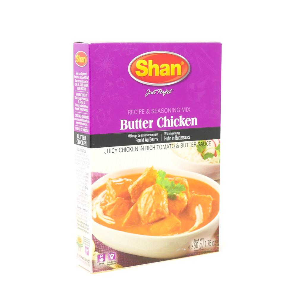 Shan Butter Chicken Mix 50g - £0.79
