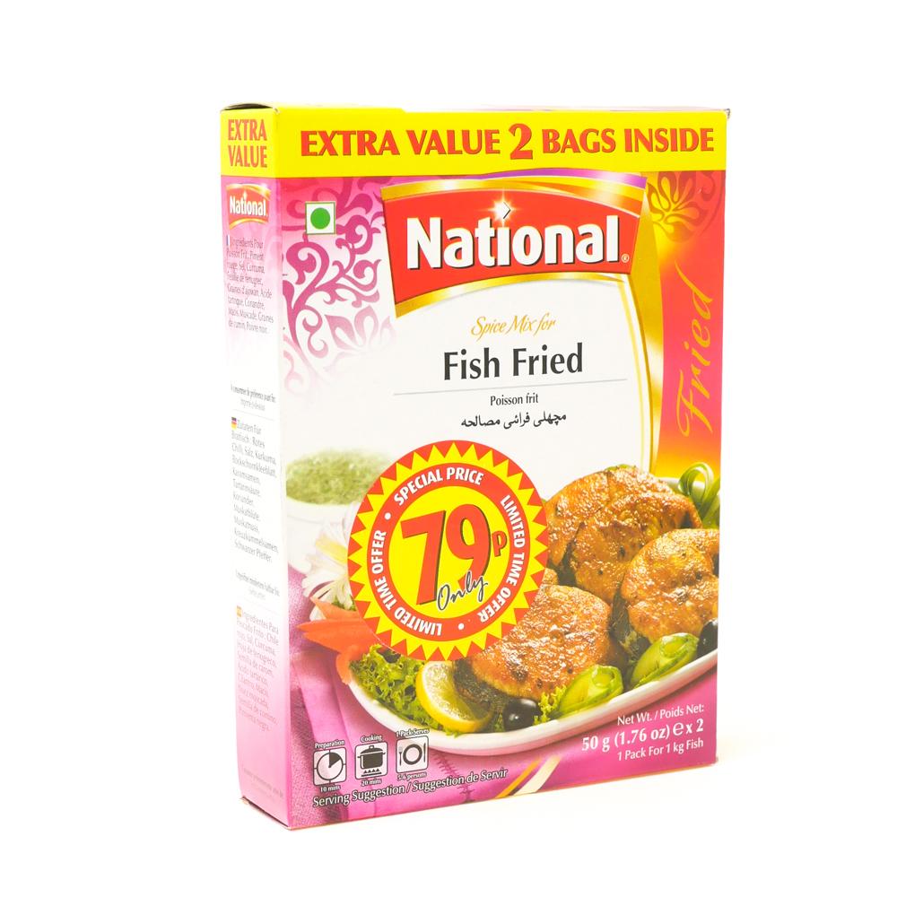 National Fish Fry Mix 90g - £0.79