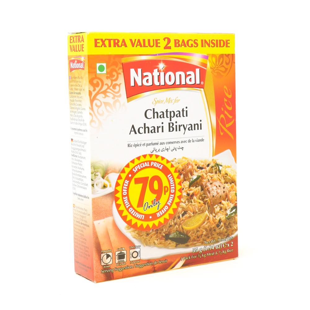National Chatpati Bri Mix 90g - £0.89