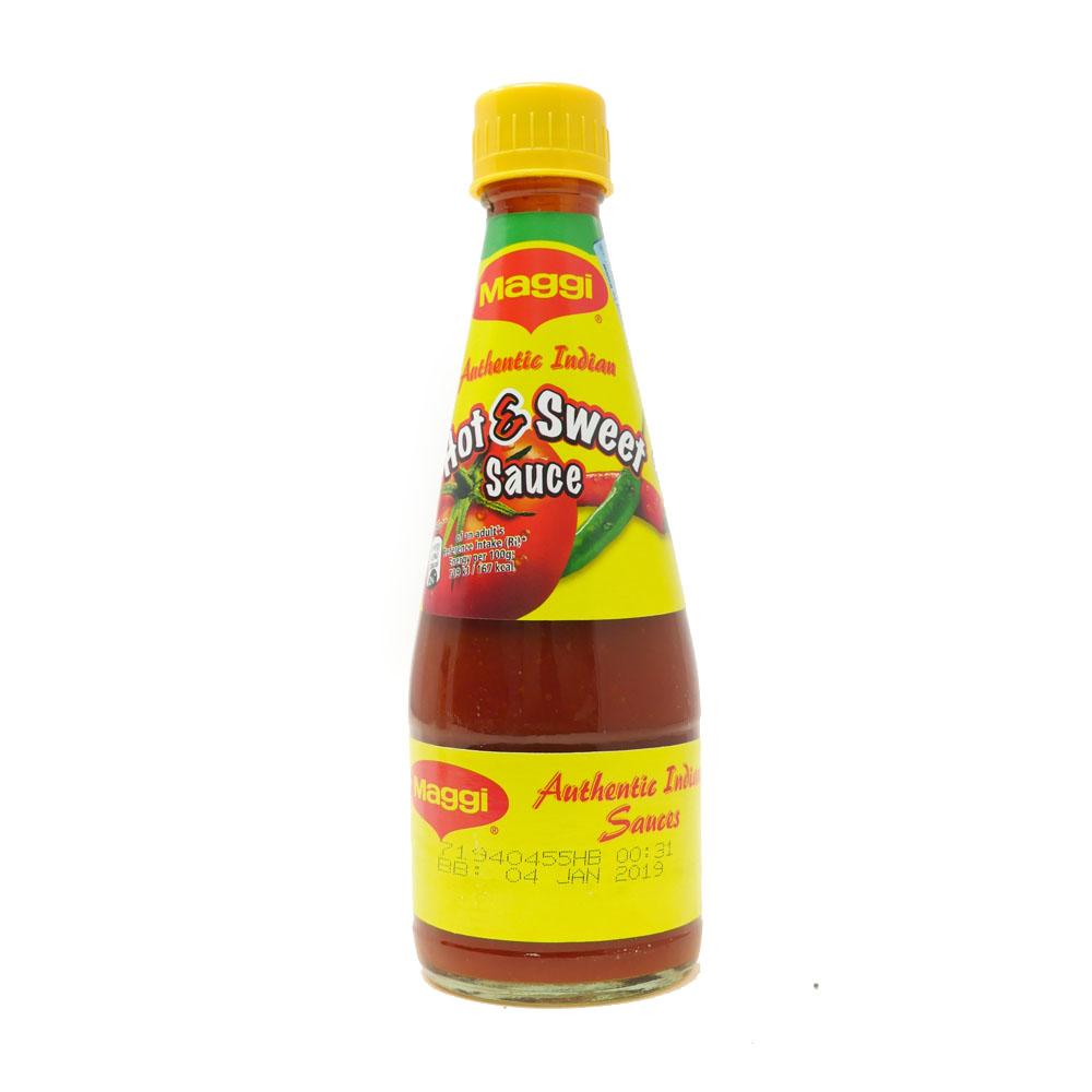 Maggi Hot & Spicy Tomato Chilli Sauce