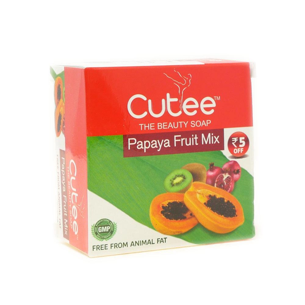 Cutee Papaya Soap