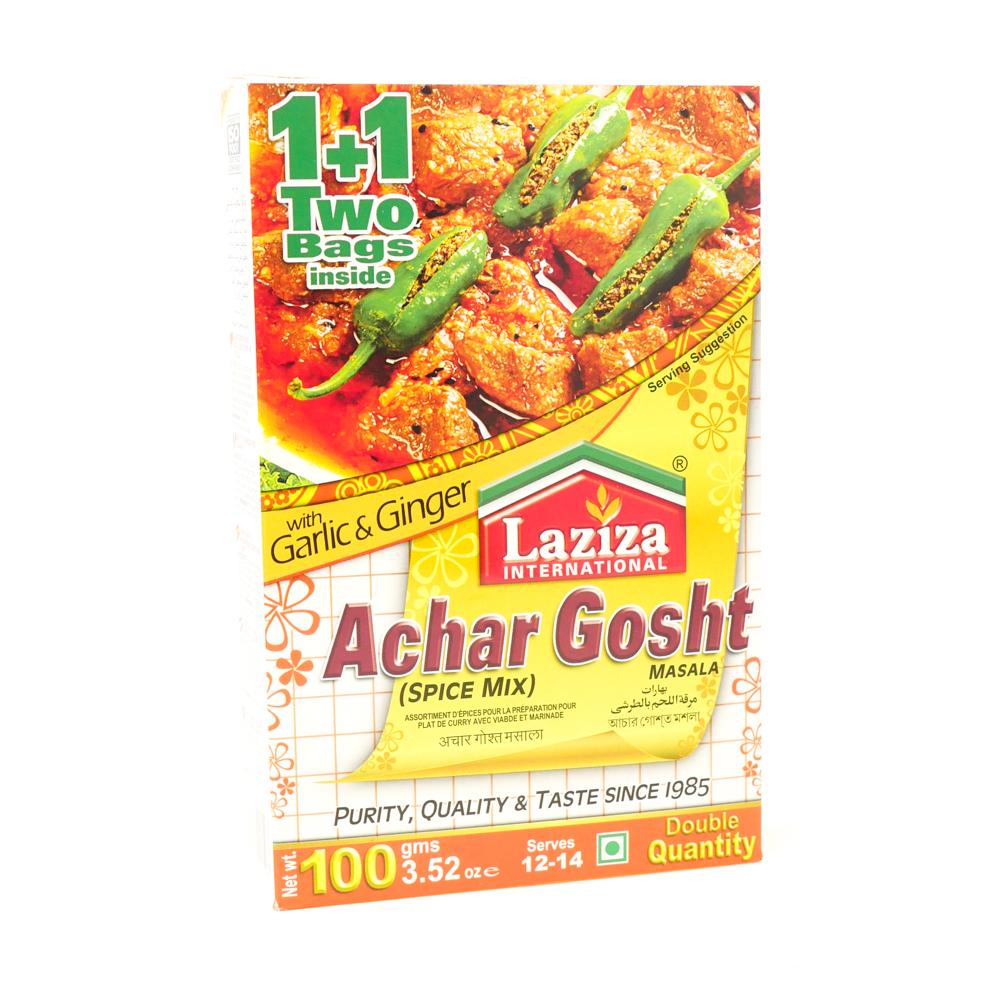 Laziza Achar Gosht Masala 100g - £1.29