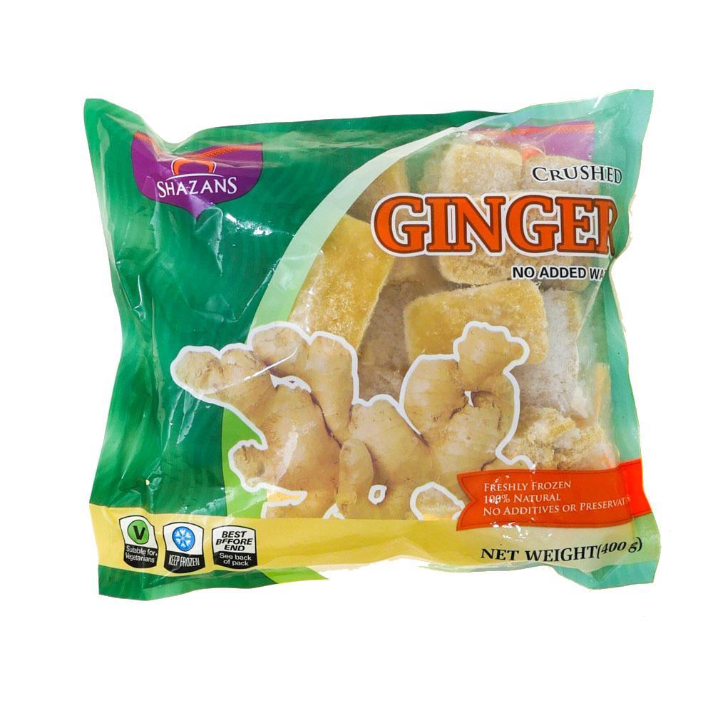 Shazans Ginger Crushed 400g - £1.99