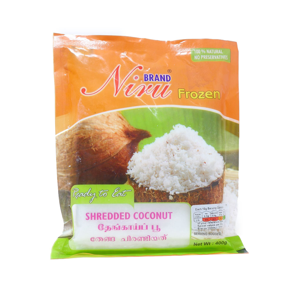 Niru Shredded Coconut 400g - £1.49