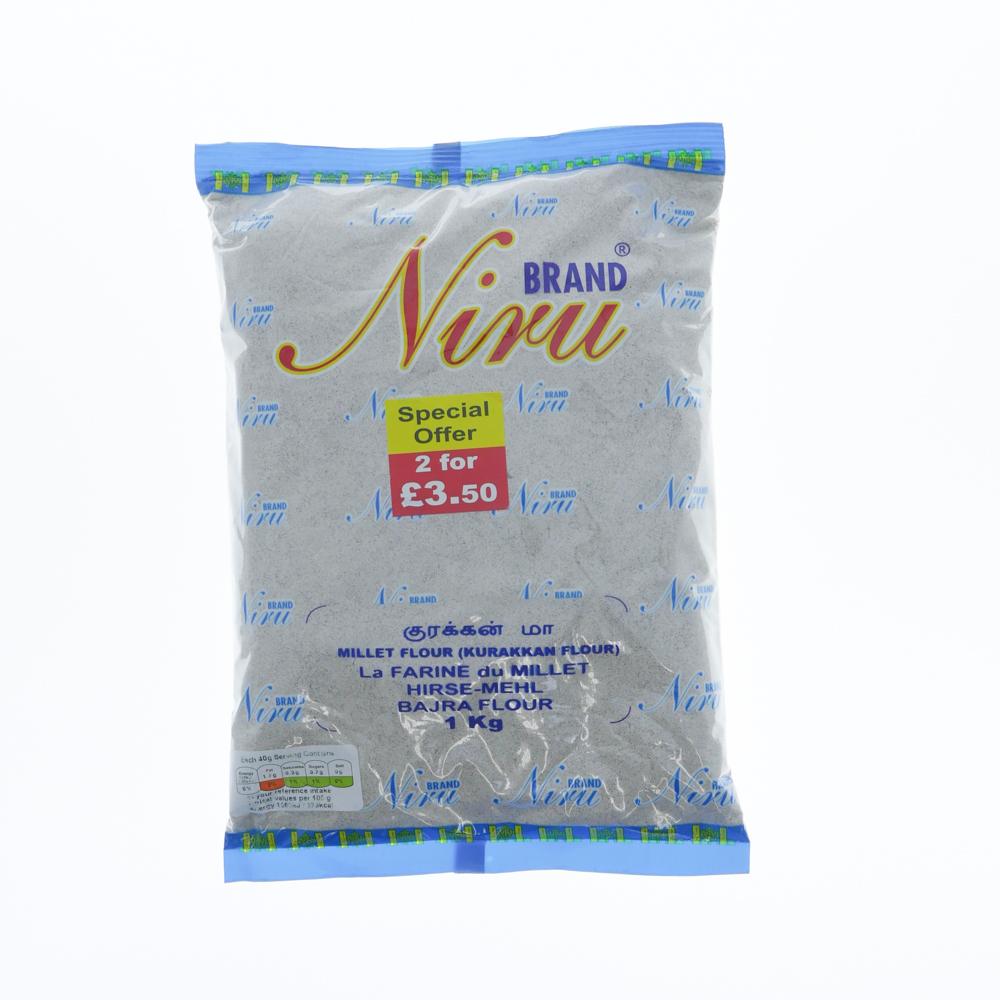 Niru Millet Flour 1kg - £1.99
