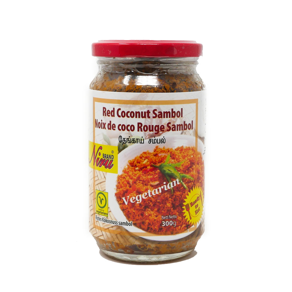 Niru Red Coconut Sambol