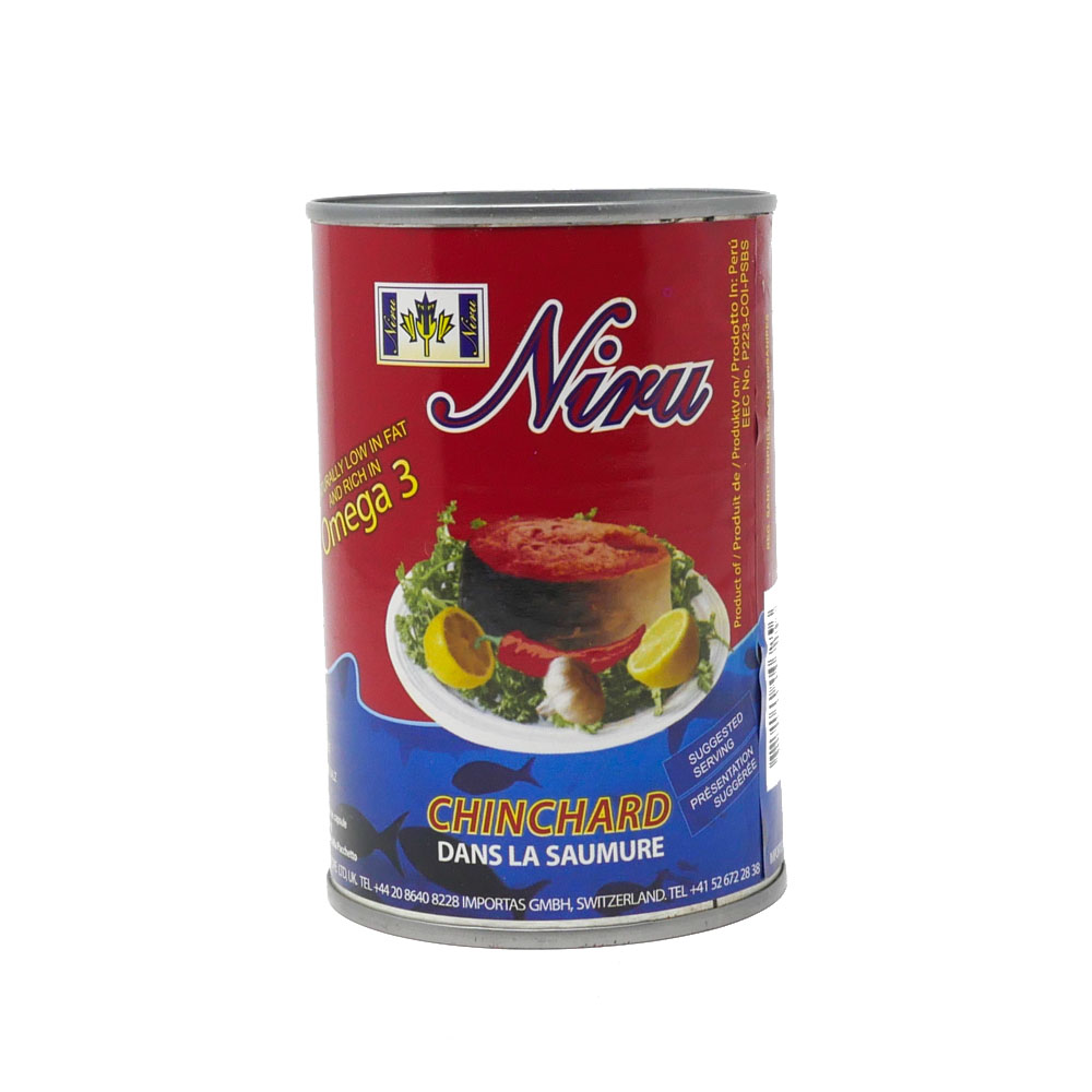 Niru Jack Mackerel In Brine 425g - £1.99