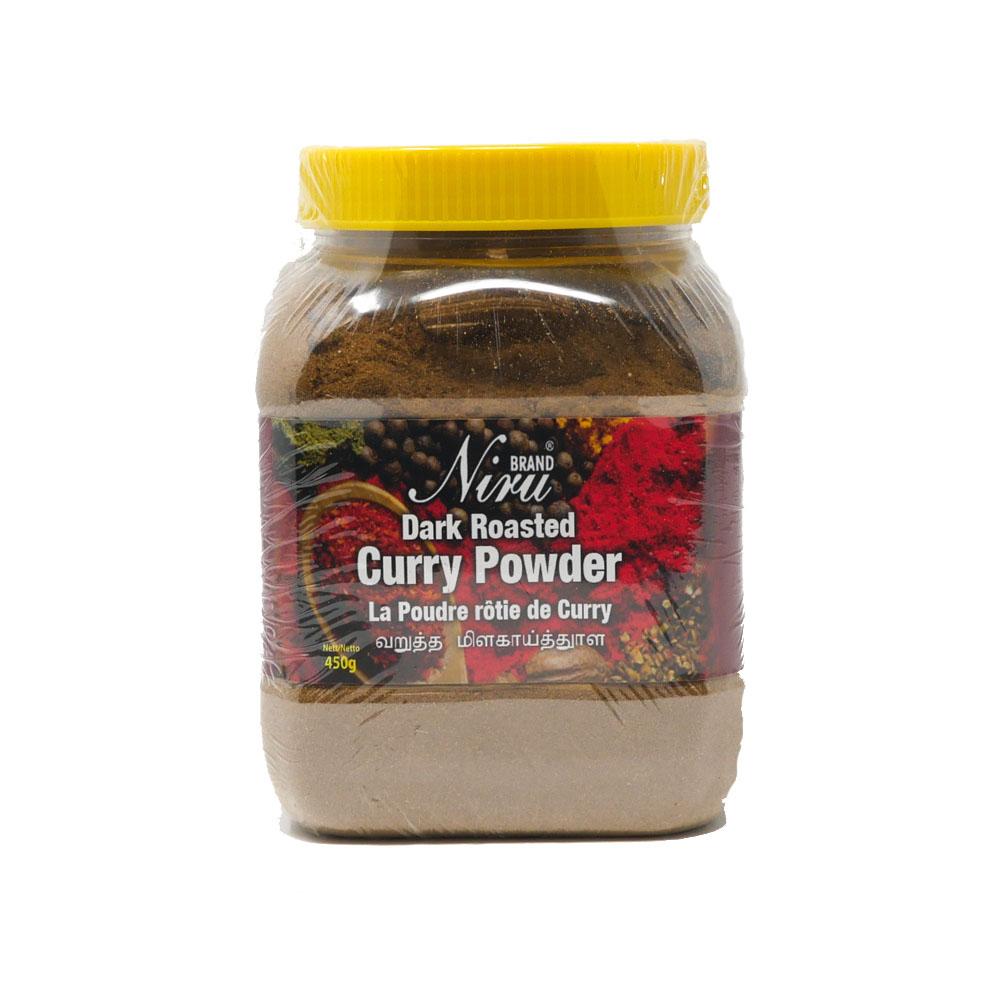 Niru Dark Roasted Curry Powder 450g - £2.49