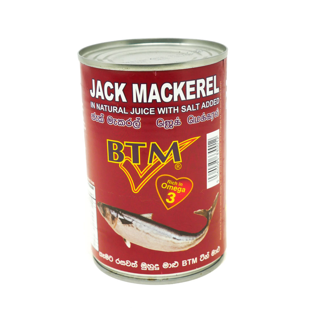 BTM Jack Mackerel Chilli