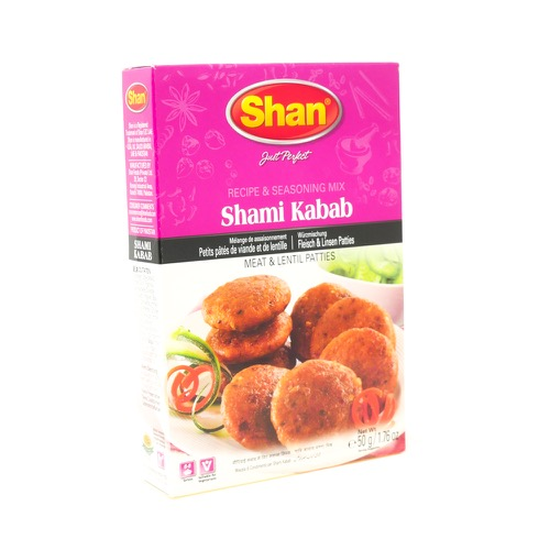 Shami Kabab Flour & Seasoning Mix Shan 100g
