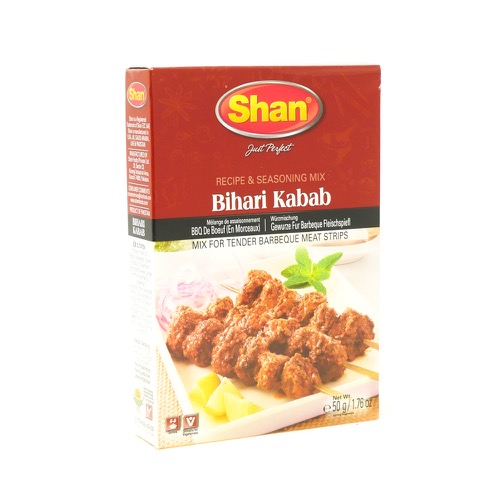 Bihari Kabab Recipe & Seasoning Mix Shan 100g