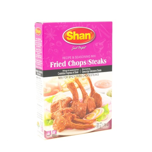 Fried Chops Steaks Shan 100g