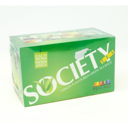 Lemon Flavoured Green Tea Bag Society 100g