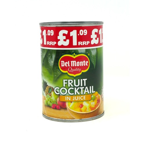 Fruit Cocktail In Juice Del  Monte 100g