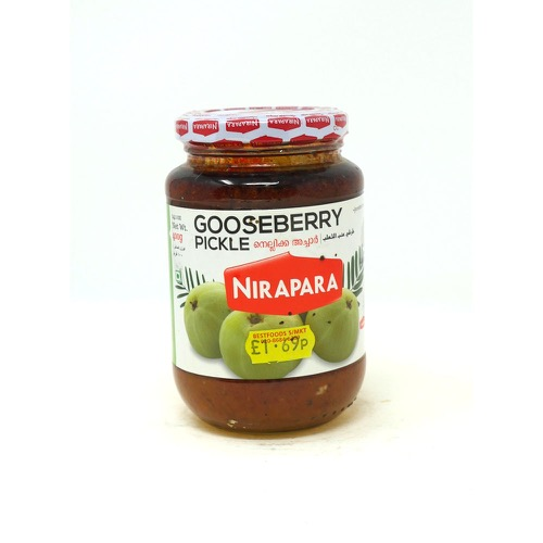 Gooseberry Pickle Nirapara 400g
