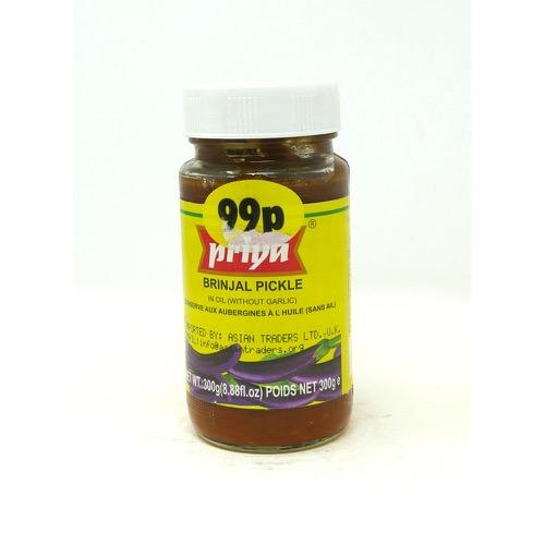 Brinjal Pickle Priya 300g
