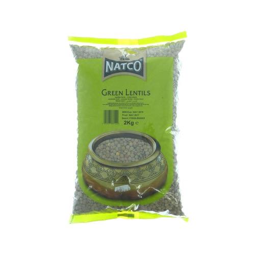 Green Lentils NATCO 100g