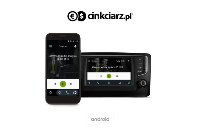 Aplikacja Cinkciarz.pl dla Android Auto