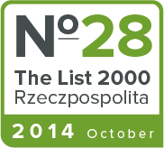 Ranked 28th on 'The List 2000'