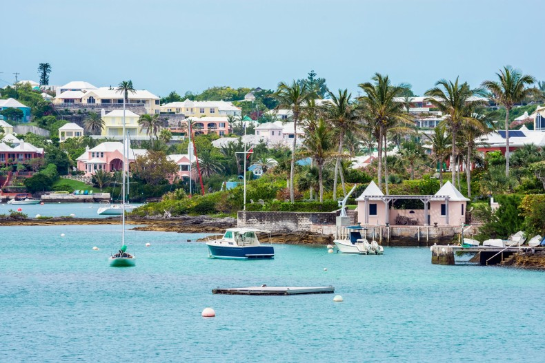 Hamilton na Bermudach