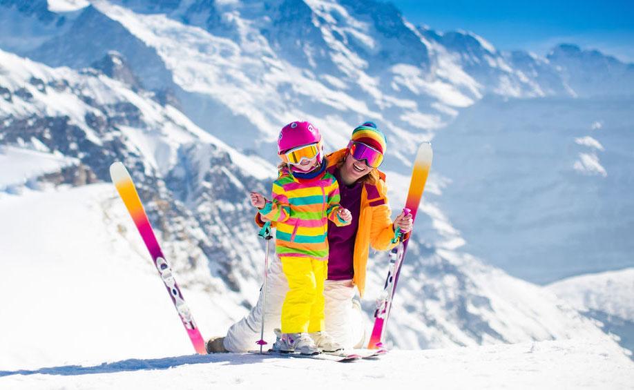 Rodzinny wyjazd w Alpy