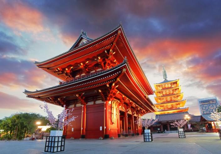 Swiątynia Sensoji-Ji