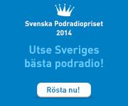 Rösta i Svenska podradiopriset 2014