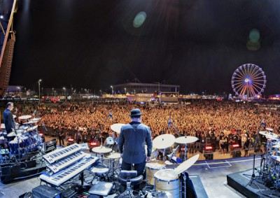 Sunset Stage Rock In Rio