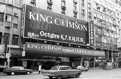 KC's first concerts in 10 years – Argentina 1994