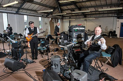 King Crimson rehearsals 2014