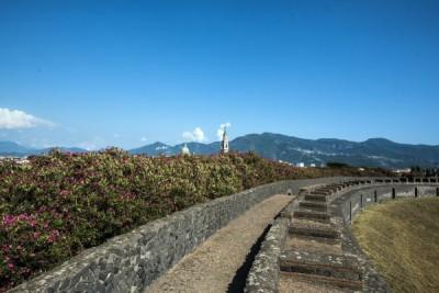 Keeping an eye on Vesuvius...