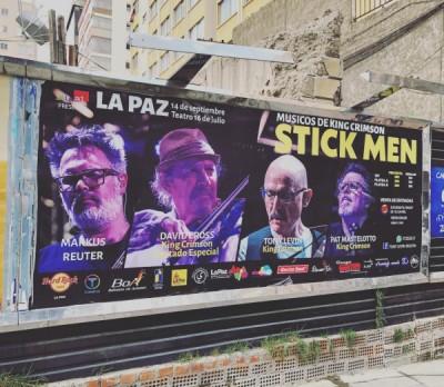 Stick Men In South America