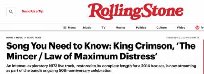 Maximum Rolling Stone