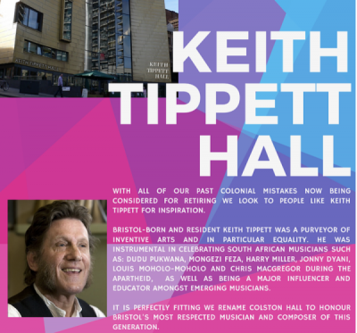 Keith Tippett Hall campaign