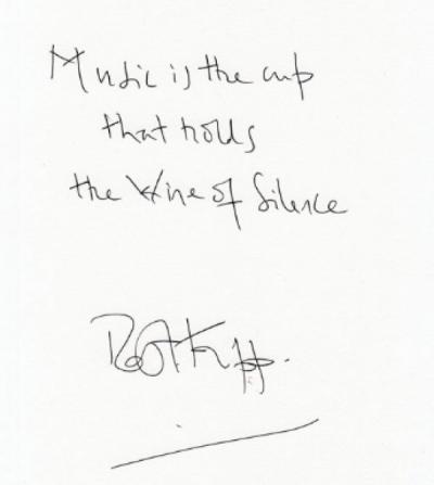 Handwritten Aphorisms