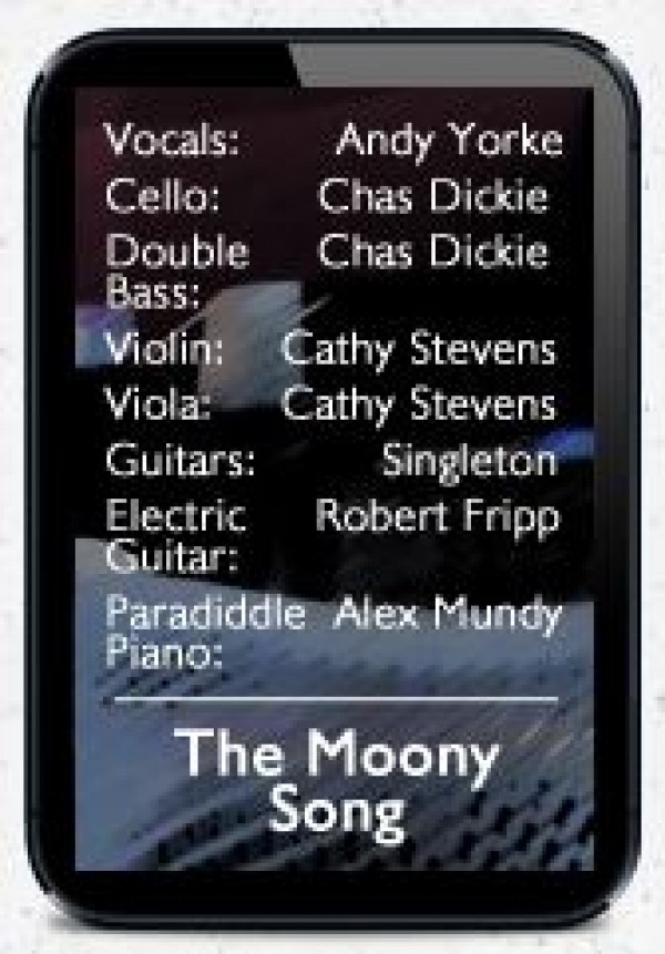 The Moony Song Credits