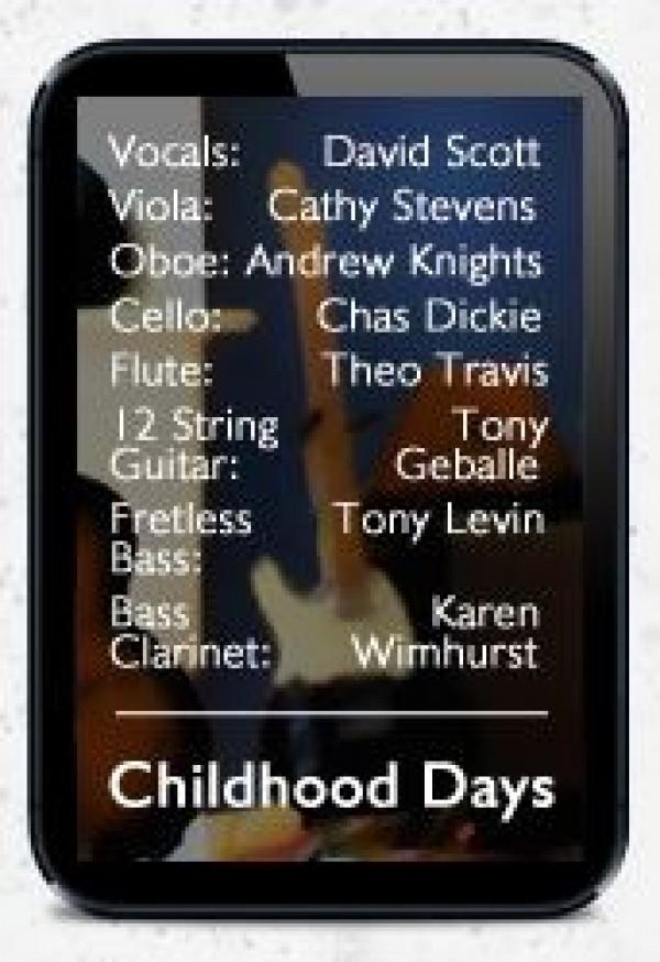 Childhood Days Credits