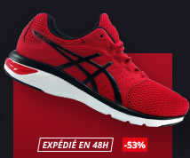 intersport asics homme