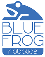 Blue Frog Robotics logo