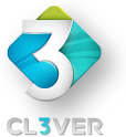 Cl3ver logo