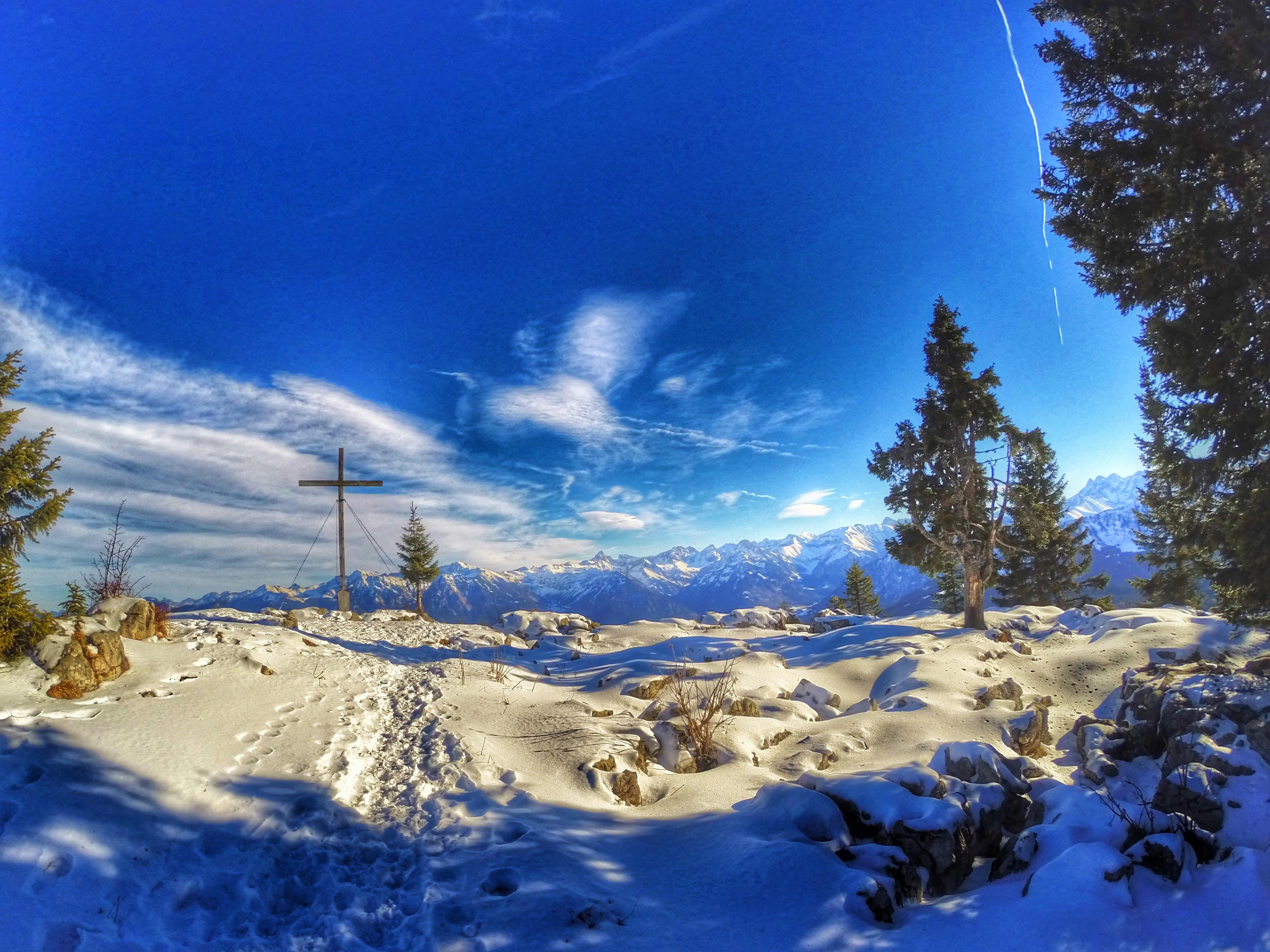 Klettersteig Besler : Leichter klettersteig u besler runde von oa bergtour komoot